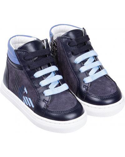 Синие кеды Armani Junior