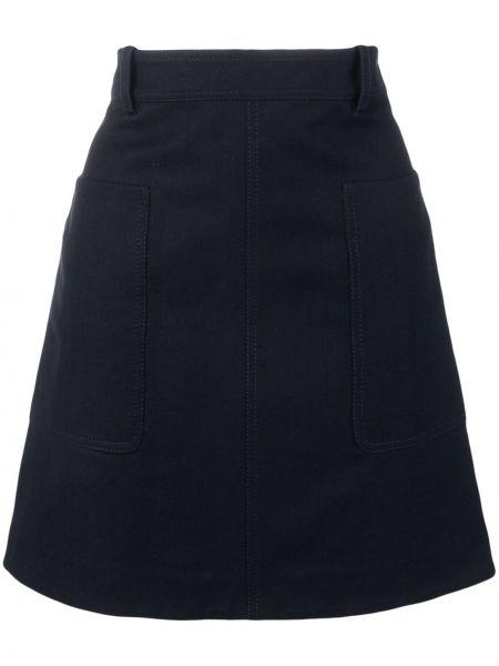 Юбка с карманами с поясом Victoria, Victoria Beckham