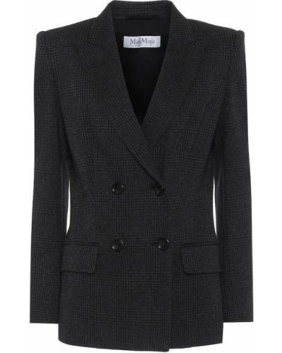Пиджак черный шерстяной Max Mara