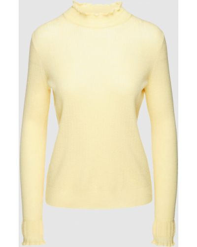 Шерстяная желтая водолазка Marc Jacobs
