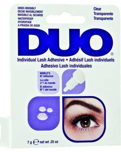 Клей для накладных ресниц прозрачный Duo