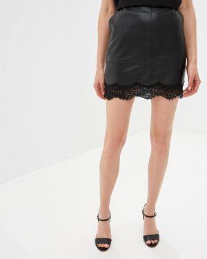 Кожаная юбка Patrizia Pepe