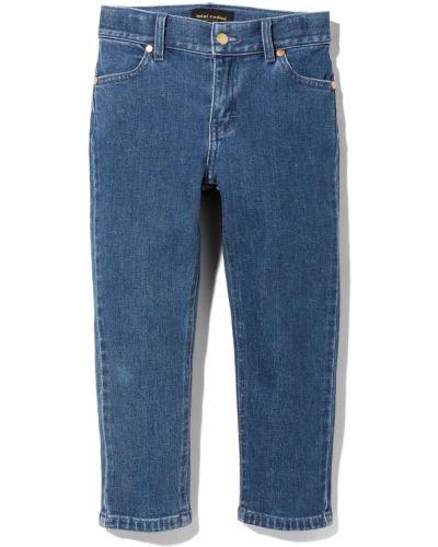 Niebieskie mom jeans z paskiem Mini Rodini