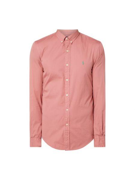 Bawełna puchaty pomarańczowy koszula z mankietami Polo Ralph Lauren
