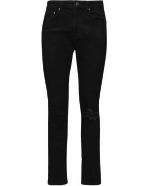 Czarne jeansy Flaneur Homme