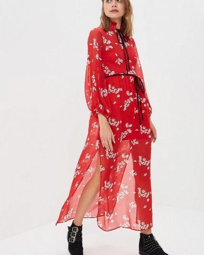 Красное вечернее платье River Island