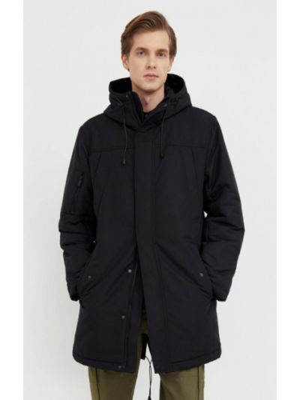 Черная демисезонная куртка Finn Flare