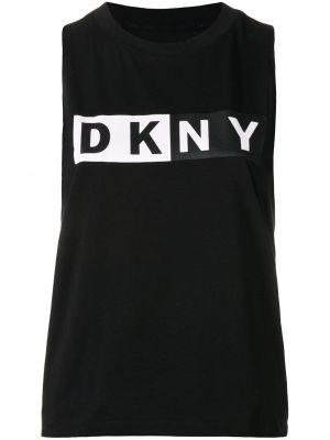 Топ черный Dkny