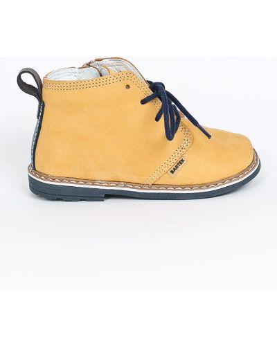 Туфли из нубука кожаные Bartek