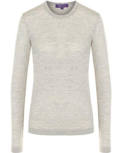 Кашемировый пуловер - серый Ralph Lauren