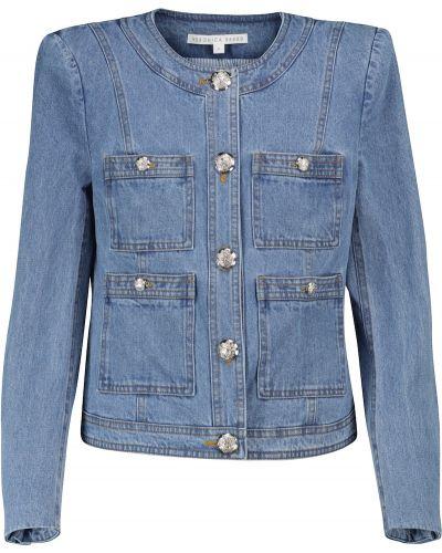Синяя куртка классическая Veronica Beard