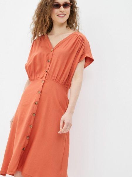 Коралловое платье Blendshe