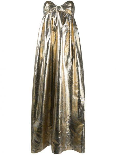 Вечернее платье на молнии ампир Sara Battaglia