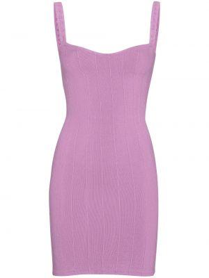 Fioletowa sukienka mini Hunza G