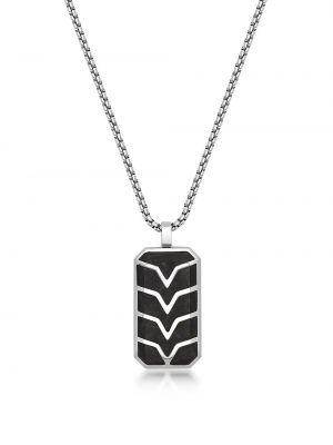 Черное ожерелье с подвесками Nialaya Jewelry