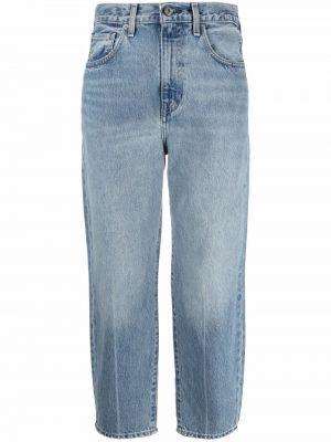 Укороченные широкие джинсы - синие Levi's®  Made & Crafted™