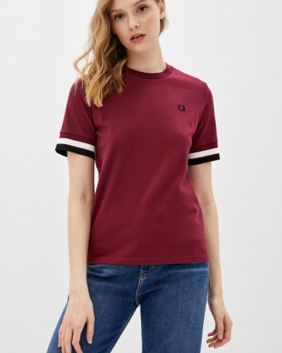 Красная футболка с короткими рукавами Fred Perry
