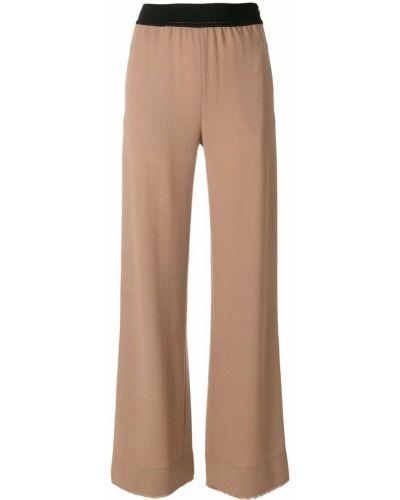 Расклешенные брюки с поясом Veronique Leroy