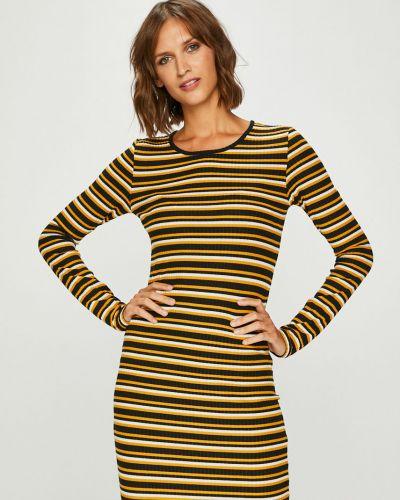 Платье макси облегающее трикотажное Only