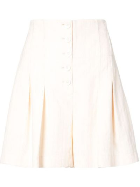 Деловые шорты - желтые Rebecca Taylor