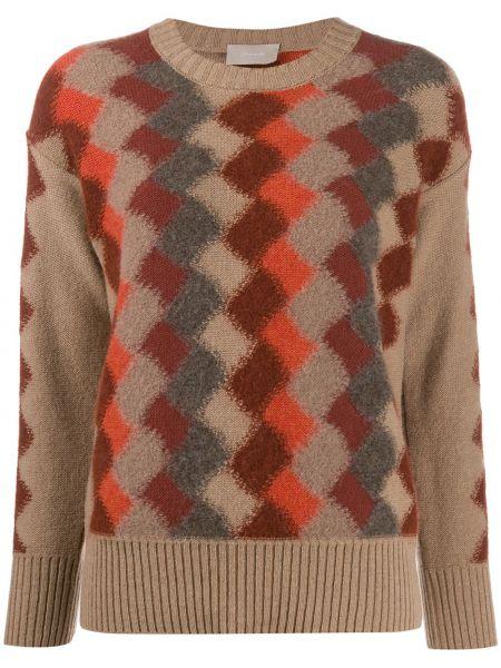 Вязаный свитер в рубчик Drumohr
