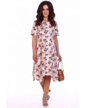 Платье бежевое инсантрик