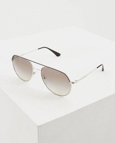 Солнцезащитные очки авиаторы 2019 Prada