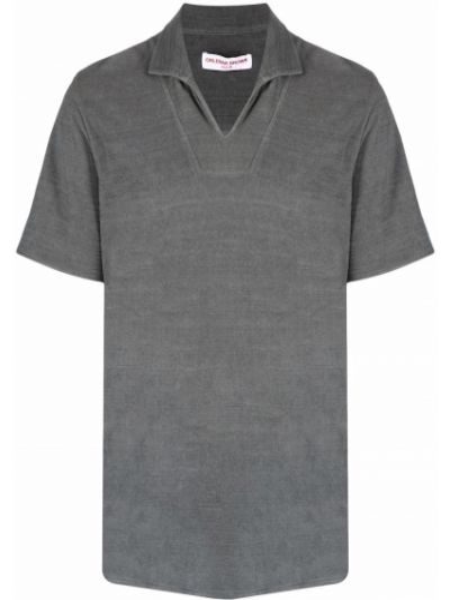 Рубашка с коротким рукавом - серая Orlebar Brown