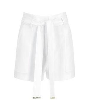 Białe szorty materiałowe Marciano Guess