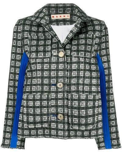 Пиджак льняной прямой Marni
