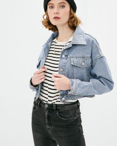Синяя джинсовая куртка Elsi