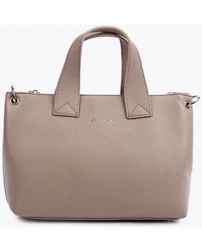 Кожаная сумка - бежевая Keddo
