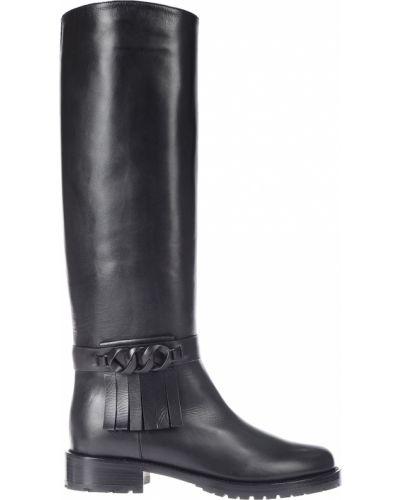 Кожаные сапоги черный Caravelle