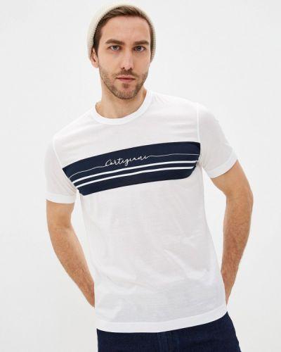 Белая футболка Cortigiani