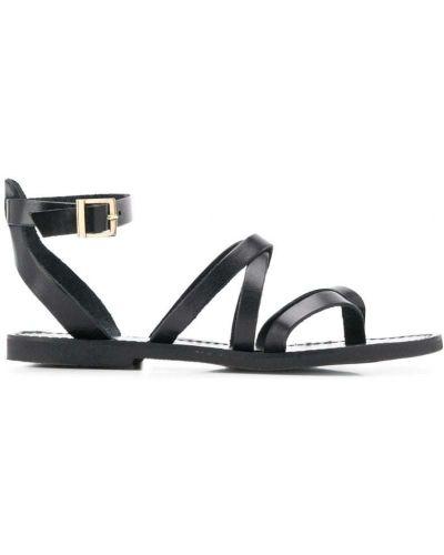 Черные сандалии с пряжкой P.a.r.o.s.h.