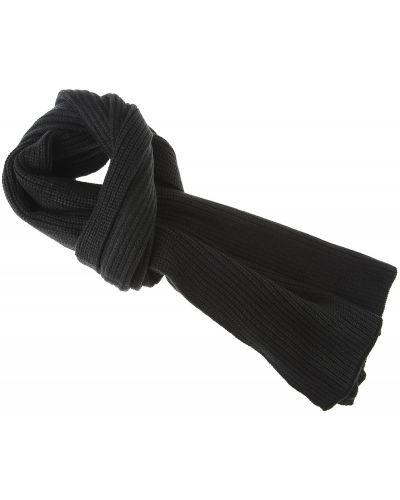 Złoty szalik - czarny Emporio Armani