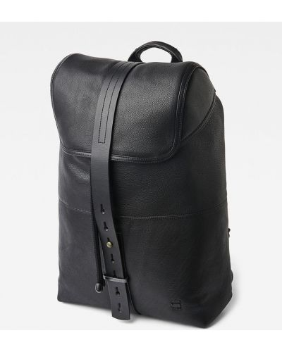Plecak skórzany z wzorem G-star Raw