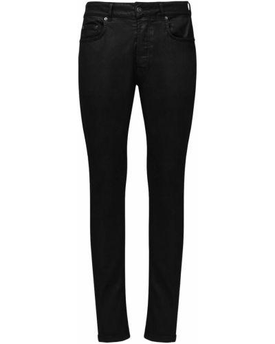 Czarne jeansy bawełniane Htc Los Angeles