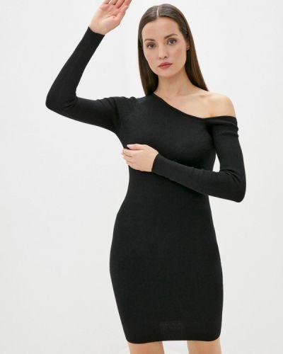 Черное платье-футляр Colin's