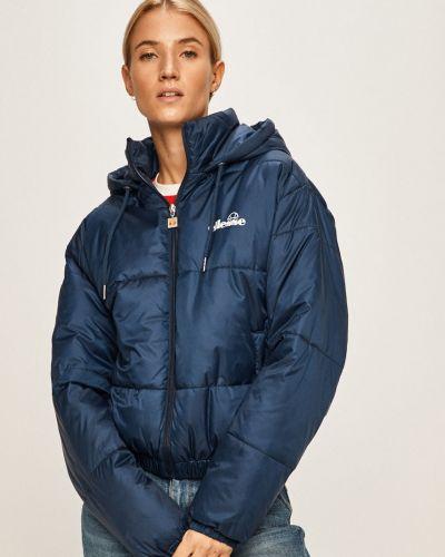 Прямая синяя куртка с капюшоном Ellesse