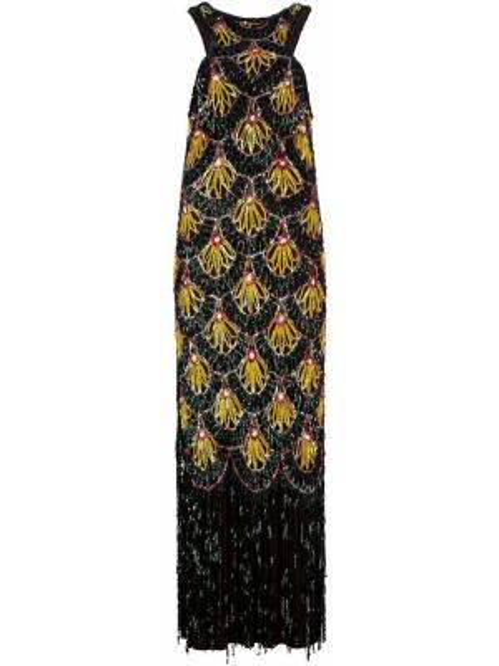 Шелковое платье винтажное Jean Paul Gaultier Pre-owned