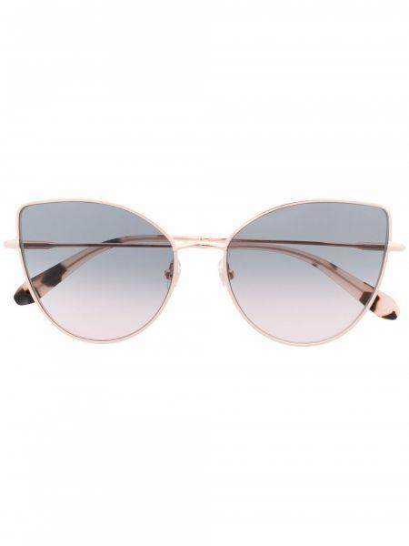 Złote okulary - różowe Gigi Studios