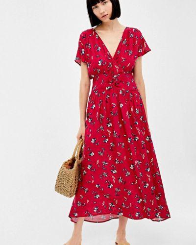 Платье прямое красный Springfield