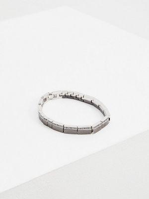 Черный разноцветный браслет Bikkembergs