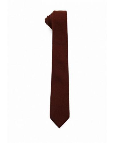 Коричневый галстук Topman