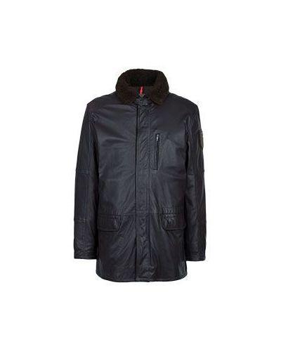 Коричневая куртка осенняя Strellson
