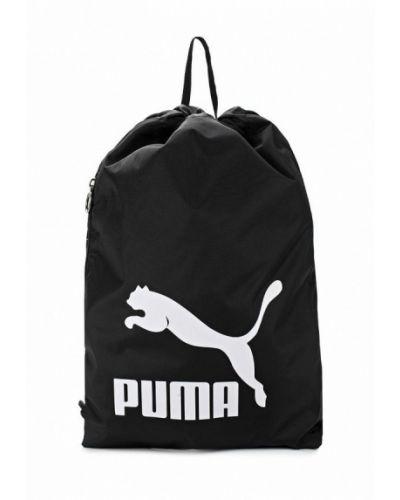 Черный рюкзак-мешок Puma