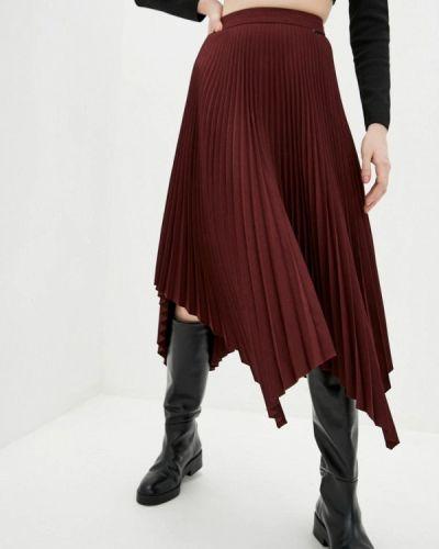 Красная плиссированная юбка Miss Sixty