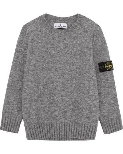 Серый свитер Stone Island