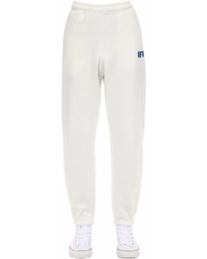 Białe joggery bawełniane Ufu - Used Future